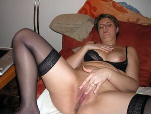 real homemade mature