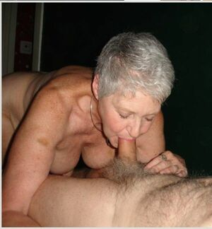 granny slow blowjob
