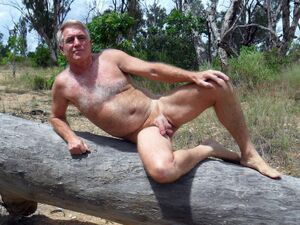 mature men with erections