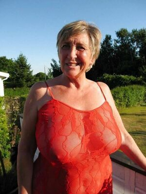 huge boobs granny