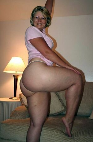 big butt mature women