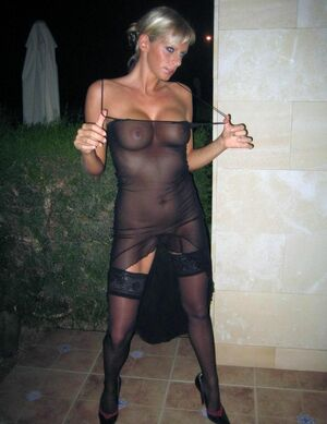 hot milf in stockings